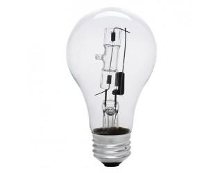 (2 Pack) Bulbrite 115070 - 72A19CL/ECO - 72 Watt - 120 Volt - Halogen - A19 - Medium (E26) - Clear - 2,900 Kelvin