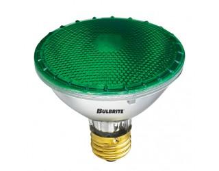 Bulbrite 683754 - H75PAR30G - 75 Watt - 120 Volt - Halogen - PAR30 - Medium (E26) - Green