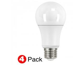 (4 Pack) Satco S9800 - 11A19/LED/2700K/1100L/120V - Non-Dimmable LED - 11 Watt - 120 Volt - A19 - Medium (E26) - 240' Beam Spread - 2,700 Kelvin (Warm White)