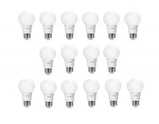 (Pack Of 16) Philips 466300 60W Equivalent A19 LED Light Bulb, 2700K Soft White