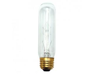 Bulbrite 704160 - 60T10C - 60 Watt - 130 Volt - Incandescent - T10 - Medium (E26) - Clear - 2,700 Kelvin