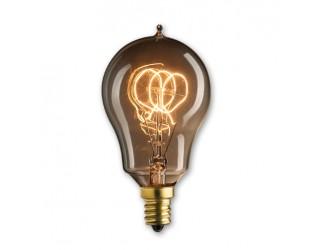 Bulbrite 132516 - NOS25A15/LP/E12 - 25 Watt - 120 Volt - Incandescent - A15 - Candelabra (E12) - Antique - 1,800 Kelvin