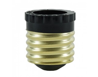 92-400 - Medium (E26) to Candelabra (E12) Light Bulb Socket Reducer / Adapter (Max. 75W-250V)