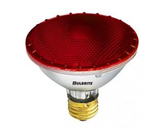 Bulbrite 683757 - H75PAR30R - 75 Watt - 120 Volt - Halogen - PAR30 - Medium (E26) - Red