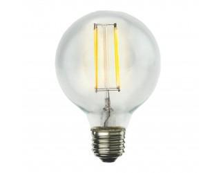 Bulbrite 776575 - LED7G25/27K/FIL/2 - LED Filament - 120 Volt - 7 Watt - G25 - Medium (E26) - 2,700 Kelvin (Warm White)