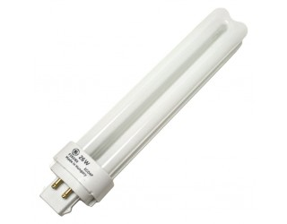 GE 97611 - F26DBX/830/ECO4P - Compact Fluorescent - 26 Watt - T4 - Double Tube - 4-Pin (G24q-3) - 3,000 Kelvin (Warm White)