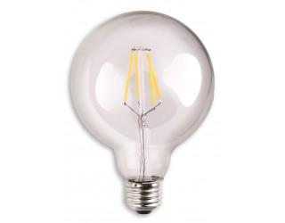 Luxrite LR21236 - LED4G25/CL/27K - LED - 4 Watt - 120 Volt - Clear - Medium (E26) - G25 - Clear - 2,700 Kelvin (Warm White)