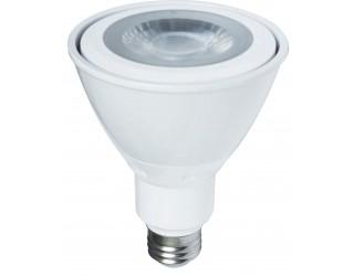 Luxrite LR23130 - L10PAR30/FL40/27K/DIM/ES - Dimmable LED - 10 Watt - 120 Volt - Medium (E26) - PAR30 - 2,700 Kelvin (Warm White)