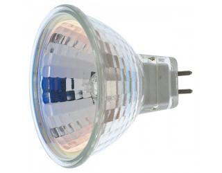 Satco S1960 - 50MR16/FL - 50 Watt - 12 Volt - Halogen - MR16 - Mini Bi-Pin (GU5.3/GX5.3) - 3,000 Kelvin