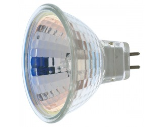 Satco S1961 - 50MR16/NSP - 50 Watt - 12 Volt - Halogen - MR16 - Mini Bi-Pin (GU5.3/GX5.3) - 3,000 Kelvin