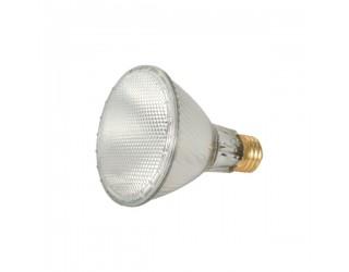 Satco S2244 - 60PAR30L/HAL/XEN/WFL/120V - Halogen - 60 Watt - 120 Volt - PAR30 - Medium (E26) - Clear Finish - 3,000 Kelvin (Warm White)