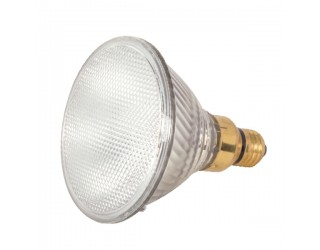Satco S2247 - 60PAR38/HAL/XEN/NSP/120V - 60 Watt - 120 Volt - Halogen - PAR38 - Medium Screw Skirted (E26sk) - Clear - 3,000 Kelvin