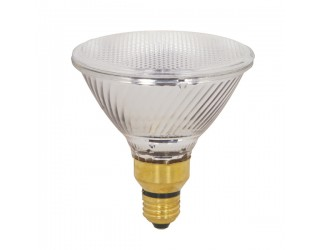Satco S2334 - 39PAR38/HAL/XEN/NFL/130V - 39 Watt - 130 Volt - Halogen - PAR38 - Medium Screw Skirted (E26sk) - Clear - 2,900 Kelvin
