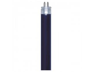 Satco S2907 - F6T5/BLB - Fluorescent Linear Blacklight Blue - 6 Watt - T5 - Mini 2-Pin (G5)
