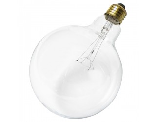 Satco S3011 - 40G40 - Incandescent - 120 Volt - 40 Watt - G40 - Medium (E26) - Dimmable Globe Light - Clear Finish