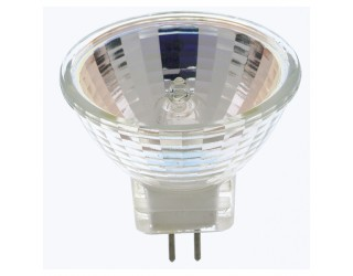 Satco S3153 - 35MR11/SP - Halogen - 35 Watt - 12 Volt - MR11 - Sub-Miniature Bi-Pin (GZ4) - 2,900 Kelvin (Warm White)