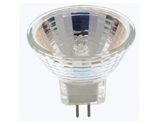 Satco S3154 - 20MR11/NFL - 20 Watt - 12 Volt - Halogen - MR11 - Sub-Miniature Bi-Pin (GZ4)