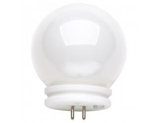 Satco S3187 - 20JCGV-G14/BALL - 20 Watt - 12 Volt - Halogen - G14 - Mini Bi-Pin (GU5.3/GX5.3) - White