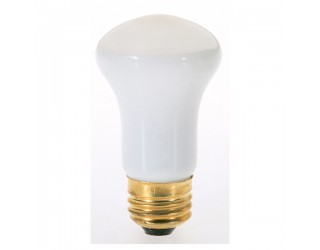 Satco S3214 - 40R16 - Incandescent - 120 Volt - 40 Watt - R16 - Medium (E26) - Dimmable Reflector - Frosted Finish