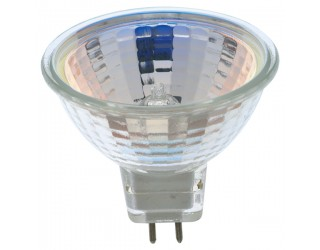 Satco S3461 - 20MR16/FL - 20 Watt - 12 Volt - Halogen - MR16 - Mini Bi-Pin (GU5.3/GX5.3)