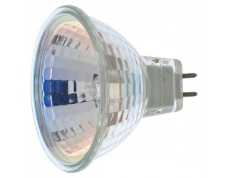 Satco S3463 - 50MR16/FL - 50 Watt - 12 Volt - Halogen - MR16 - Mini Bi-Pin (GU5.3/GX5.3)