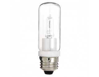 Satco S3474 - 150T10Q/CL - 150 Watt - 120 Volt - Halogen - T10 - Medium (E26) - Clear