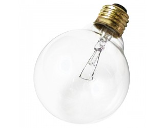 Satco S3652 - 40G30 - Incandescent - 120 Volt - 40 Watt - G30 - Medium (E26) - Dimmable Globe Light - Clear Finish