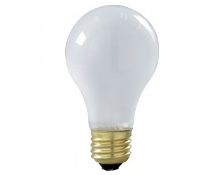 Satco S3929 - 100A/RS/TF/2PK - 100 Watt - 130 Volt - Incandescent - A19 - Medium (E26) - Frost Shatter Proof