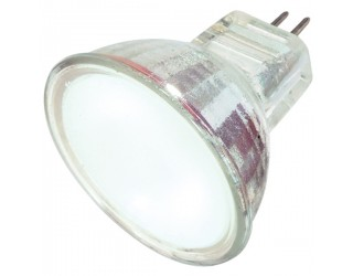 Satco S4124 - 20MR11/FL/FR/C - 20 Watt - 12 Volt - Halogen - MR11 - Sub-Miniature Bi-Pin (GZ4)