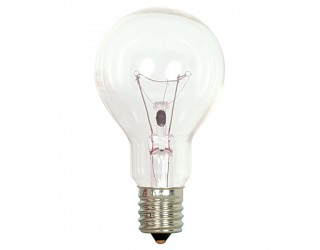 Satco S4164 - 40A15/CL/E17 - Incandescent - 130 Volt - 40 Watt - A15 - Intermediate (E17) - General Service - Dimmable - Clear Finish