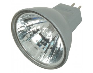 Satco S4170 - 20MR11/FTD/S/C - 20 Watt - 12 Volt - Halogen - MR11 - Sub-Miniature Bi-Pin (GZ4) - Silver Back