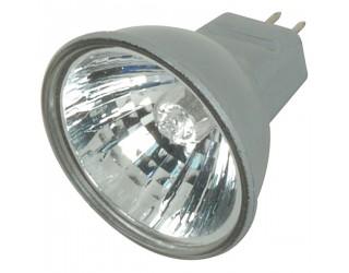 Satco S4172 - 35MR11/FTH/S/C - Halogen - 35 Watt - 12 Volt - MR11 - Sub-Miniature Bi-Pin (GZ4) - Silver Back - 2,900 Kelvin (Warm White)