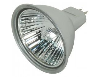 Satco S4177 - 50MR16/EXN/S/C - 50 Watt - 12 Volt - Halogen - MR16 - Mini Bi-Pin (GU5.3/GX5.3) - Silver Back