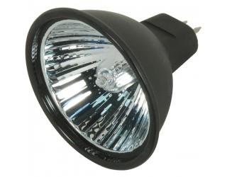 Satco S4178 - 20MR16/BAB/B/C - 20 Watt - 12 Volt - Halogen - MR16 - Mini Bi-Pin (GU5.3/GX5.3) - Black