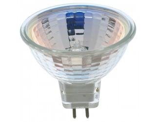 Satco S4185 - 10MR16/NFL - Halogen - 10 Watt - 12 Volt - MR16 - Mini Bi-Pin (GU5.3/GX5.3) - 2,900 Kelvin (Warm White)