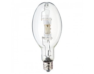 Venture Lighting 40509 - MS400/HOR - High-Intensity Discharge (HID) - 400 Watt - ED37 - Mogul Screw (E39) - Metal Halide - Probe Start - Clear Finish - 4,000 Kelvin (Cool White)