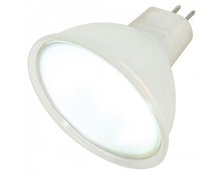 Satco S4354 - 20MR16/Frost TFR - 20 Watt - 12 Volt - Halogen - MR16 - Mini Bi-Pin (GU5.3/GX5.3) - Frost
