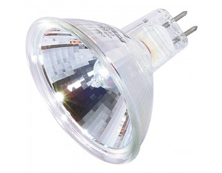 Satco S4365 - 35MR16/FL/C - 35 Watt - 12 Volt - Halogen - MR16 - Mini Bi-Pin (GU5.3/GX5.3)