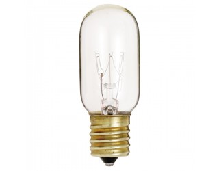 Satco S4720 - 25T8/N - Incandescent - 130 Volt - 25 Watt - T8 - Intermediate (E17) - Indicator & Sign - Dimmable - Clear Finish