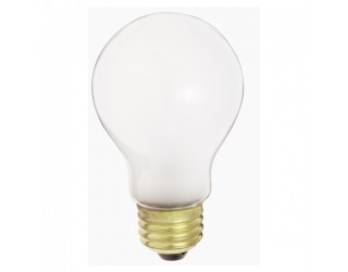 Satco S5021 - 50A19/F/34V - Incandescent - 34 Volt - 50 Watt - A19 - Medium (E26) - General Service - Dimmable - Frosted Finish