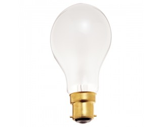 Satco S5040 - 40A19/F/230V - Incandescent - 220 Volt - 40 Watt - A19 - Mogul Bayonet (B22d) - General Service - Dimmable - Frosted Finish