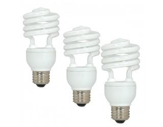 Satco S5543 - 18T2/50 - 18 Watt - 120 Volt - Compact Fluorescent - T2 - Medium (E26) - 5,000 Kelvin