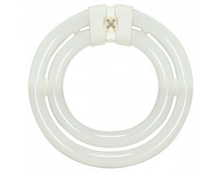 Satco HyGrade S6596 - FC552C/SW/TC - Fluorescent Circline Lamp - 55 Watt - T9 - 4-Pin (G10q) - 3,000 Kelvin (Warm White)