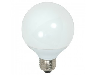 Satco S7303 - 9G25/50 - 9 Watt - 120 Volt - Compact Fluorescent - G25 - Medium (E26) - 5,000 Kelvin