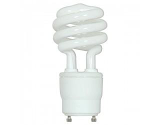 Satco S8233 - 26GU24/35 - Spiral Compact Fluorescent - 120 Volt - 26 Watt - T3 - Twist and Lock (GU24) - 3,500 Kelvin (Neutral White)