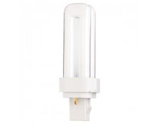 Satco S8317 - CFD13W/827 - 13 Watt - Compact Fluorescent - T4 - 2-Pin (GX23-2) - 2,700 Kelvin