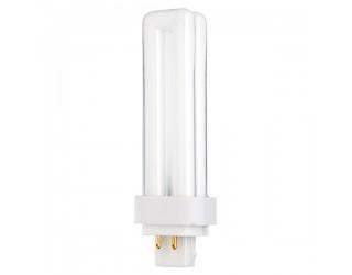 Satco S8330 - CFD13W/4P/830 - 13 Watt - Compact Fluorescent - T4 - 4-Pin (G24q-1) - 3,000 Kelvin