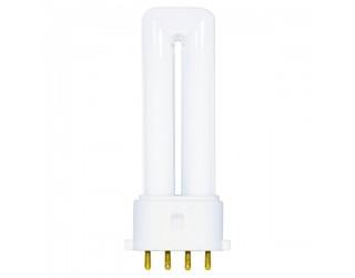 Satco S8360 - CF5DS/E/827 - 5 Watt - Compact Fluorescent - T4 - 4-Pin (2G7) - 2,700 Kelvin
