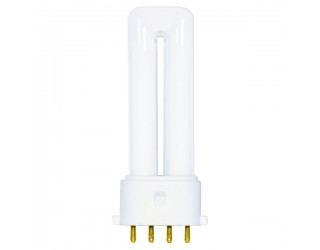 Satco S8361 - CF5DS/E/841 - 5 Watt - Compact Fluorescent - T4 - 4-Pin (2G7) - 4,100 Kelvin
