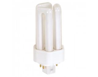 Satco S8397 - CFT13W/4P/835 - 13 Watt - Compact Fluorescent - T4 - 4-Pin (GX24q-1) - 3,500 Kelvin